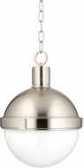 Hudson Valley 612-SN Lambert Modern Satin Nickel 12.5  Hanging Light