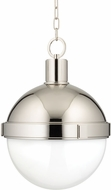 Hudson Valley 615-PN Lambert Modern Polished Nickel 14.5  Hanging Pendant Lighting