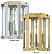 Hudson Valley 6200 Roxbury 13 Inch Tall Small 3 Light Cage Drop Ceiling Lighting