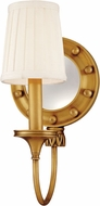 Hudson Valley 631-AGB Regent Aged Brass Wall Light Sconce