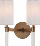 Hudson Valley 6312-BB Wylie Brushed Bronze Wall Sconce Lighting
