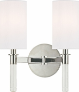 Hudson Valley 6312-PN Wylie Polished Nickel Wall Mounted Lamp