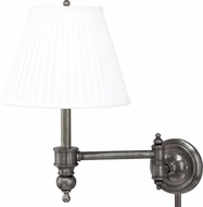 Hudson Valley 6331-AN Chatham Vintage Antique Nickel Swing Arm Wall Lamp