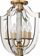 Hudson Valley 6500-AGB Arietta Aged Brass Home Ceiling Lighting