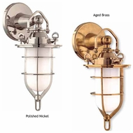 Hudson Valley 6501 New Canaan Nautical Wall Sconce