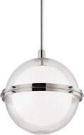 Hudson Valley 6518-PN Northport Contemporary Polished Nickel Pendant Lamp