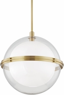 Hudson Valley 6522-AGB Northport Contemporary Aged Brass Hanging Lamp