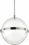 Hudson Valley 6522-PN Northport Contemporary Polished Nickel Pendant Light Fixture