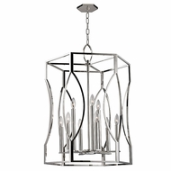 Hudson Valley 6523-PN Roswell Polished Nickel Entryway Light Fixture