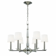 Hudson Valley 6616 Porter 25.25  Tall Transitional Ceiling Chandelier