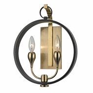 Hudson Valley 6702-AOB Dresden Contemporary Aged Old Bronze Wall Lighting