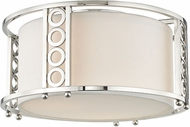 Hudson Valley 6710-PN Infinity Contemporary Polished Nickel Flush Mount Lighting Fixture