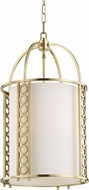 Hudson Valley 6714-AGB Infinity Modern Aged Brass 14  Foyer Lighting