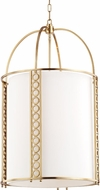 Hudson Valley 6720-AGB Infinity Modern Aged Brass 20  Foyer Lighting Fixture