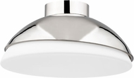 Hudson Valley 6815-PN Morse Contemporary Polished Nickel 15 Ceiling Lighting Fixture