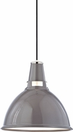 Hudson Valley 6816-GPN Lydney Modern Gray / Polished Nickel 15.5  Drop Ceiling Light Fixture