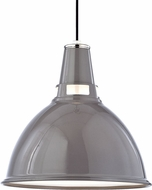 Hudson Valley 6820-GPN Lydney Contemporary Gray / Polished Nickel 19.5  Pendant Light