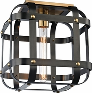 Hudson Valley 6900-AOB Colchester Modern Aged Old Bronze Ceiling Lighting Fixture