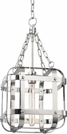 Hudson Valley 6912-PN Colchester Contemporary Polished Nickel 11.75 Entryway Light Fixture