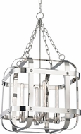 Hudson Valley 6920-PN Colchester Contemporary Polished Nickel 19.75  Foyer Light Fixture