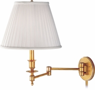 Hudson Valley 6921-PB Ludlow Polished Brass Wall Swing Arm Lamp