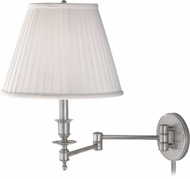 Hudson Valley 6921-SN Ludlow Satin Nickel Wall Swing Arm Lamp