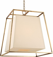 Hudson Valley 6924-AGB Kyle Contemporary Aged Brass Pendant Lamp