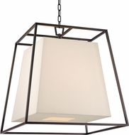 Hudson Valley 6924-OB-WS Kyle Contemporary Old Bronze Pendant Light Fixture