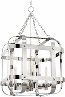Hudson Valley 6925-PN Colchester Contemporary Polished Nickel 27.5 Entryway Light Fixture