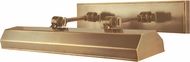Hudson Valley 7023-AGB Woodbury Traditional Aged Brass 23  Picture Lamp