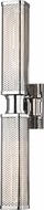 Hudson Valley 7032-PN Gibbs Contemporary Polished Nickel Lighting Sconce