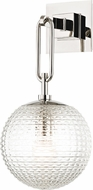 Hudson Valley 7101-PN Jewett Contemporary Polished Nickel Wall Sconce