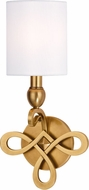 Hudson Valley 7211-AGB Pawling Aged Brass Lighting Wall Sconce