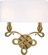 Hudson Valley 7212-AGB Pawling Aged Brass Wall Mounted Lamp