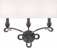 Hudson Valley 7213-OB Pawling Old Bronze Wall Sconce Light