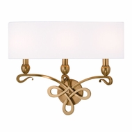 Hudson Valley 7213 Pawling 16.5  Tall Wall Lighting