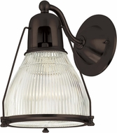 Hudson Valley 7301-OB Haverhill Contemporary Old Bronze Lamp Sconce