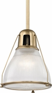 Hudson Valley 7311-AGB Haverhill Contemporary Aged Brass 12  Drop Ceiling Lighting