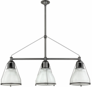 Hudson Valley 7313-OB Haverhill Contemporary Old Bronze Kitchen Island Light Fixture