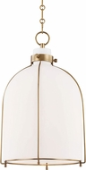 Hudson Valley 7314-AGB Eldridge Modern Aged Brass Pendant Lamp