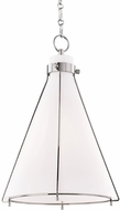 Hudson Valley 7316-PN Eldridge Contemporary Polished Nickel Hanging Pendant Lighting