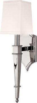 Hudson Valley 741-PN Norwich Contemporary Polished Nickel Wall Mounted Lamp