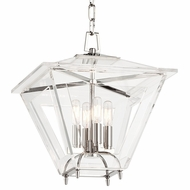 Hudson Valley 7419-PN Andover Polished Nickel Finish 21.25 Tall Pendant Lamp