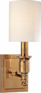 Hudson Valley 7501-AGB Whitney Aged Brass Wall Light Sconce