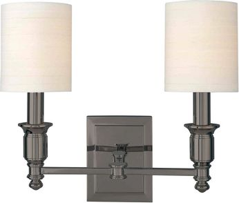 Hudson Valley 7502-AN Whitney Antique Nickel Sconce Lighting