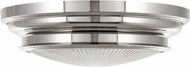 Hudson Valley 7516-PN Woodstock Contemporary Polished Nickel 16 Flush Ceiling Light Fixture