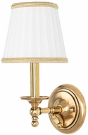 Hudson Valley 7701-AGB Orchard Park Aged Brass Wall Light Fixture