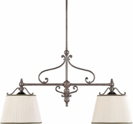 Hudson Valley 7712-HN Orchard Park Historic Nickel Kitchen Island Light Fixture