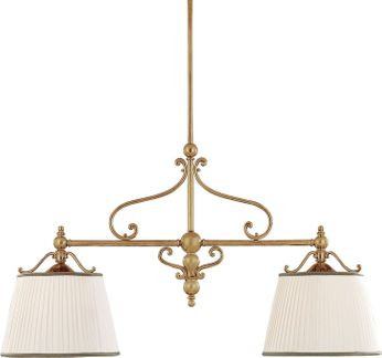 Hudson Valley 7712-AGB Orchard Park Aged Brass Kitchen Island Light