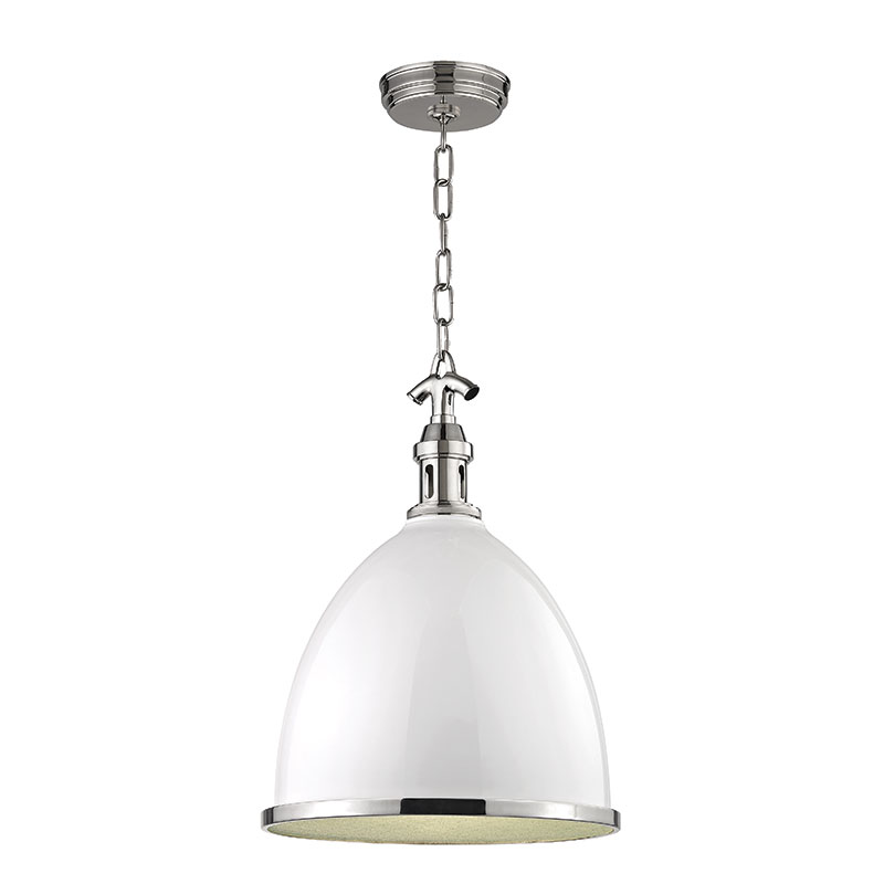 hudson valley 7718 wpn viceroy contemporary white polished nickel